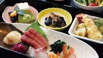 【夕食付きプラン】鮮魚のお刺身御膳