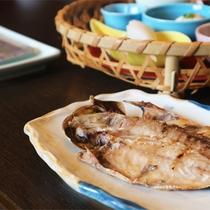 *朝食一例/伊豆ならではの美味しい干物をお楽しみください
