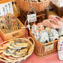 *お土産/手作りの草履はお土産に人気