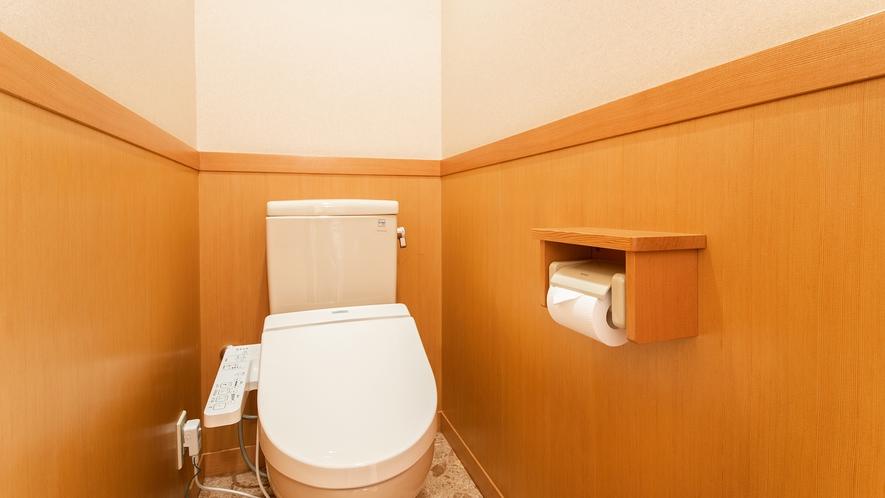 *客室一例/各お部屋に洗浄機能付きトイレを完備
