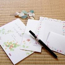 *未来の手紙/旅の思い出を数年後の自分や大切な方へお届けします(ご希望の方はフロントへ)