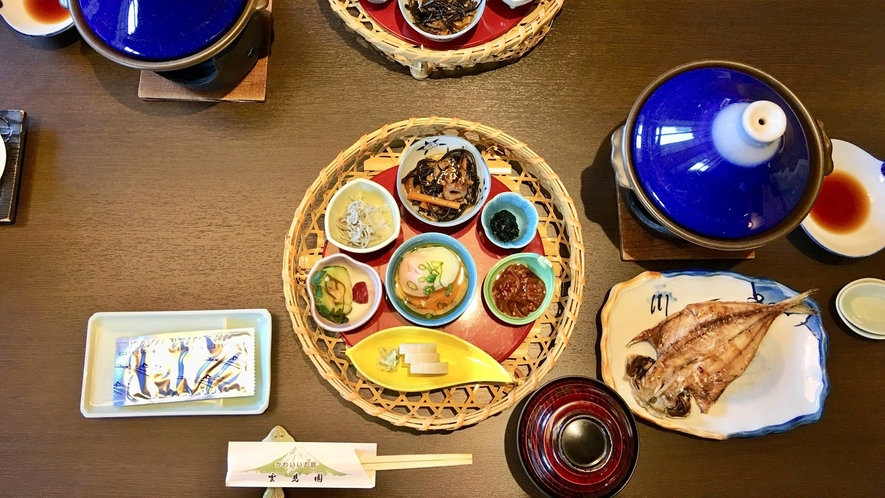 *朝食一例/見た目も美しい手作りの和食で1日をスタート