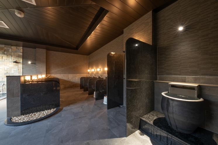 大浴場カラン