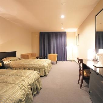 【禁煙】洋室 36平米 ベッド2台のツインルーム