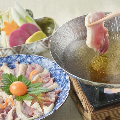 近江軍鶏の水炊き