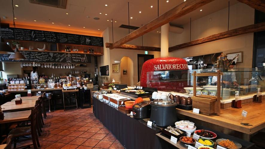 ◆ピッツァ サルヴァトーレ クオモ/1階・朝食会場◆