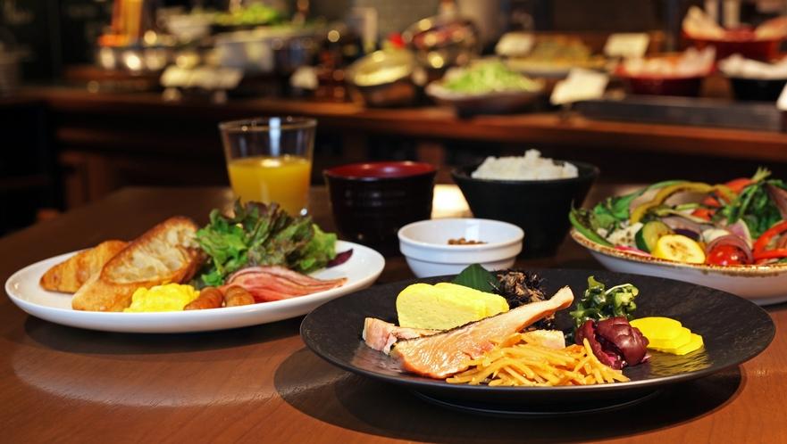 ◆朝食盛り付け一例◆
