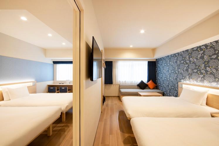 コネクティングルーム(4人部屋)