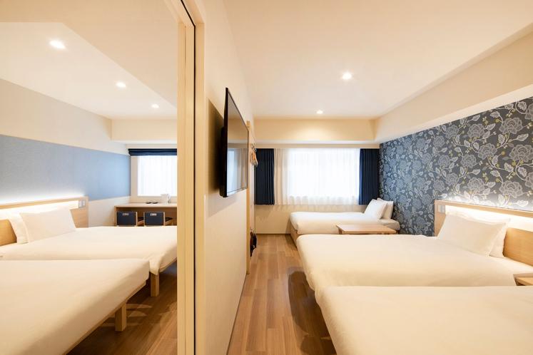 コネクティングルーム(5人部屋)