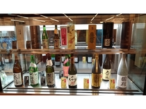 日本酒 品揃え一例