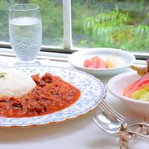 【夕食一例】ハヤシライス