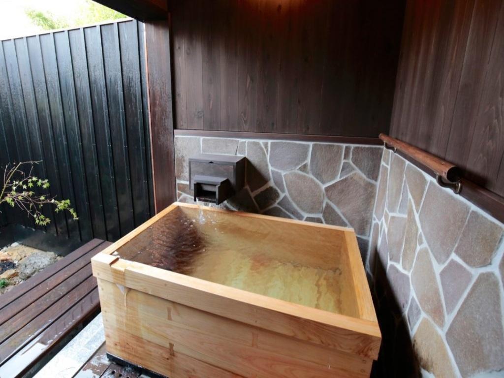 半露天風呂付客室 金木犀風呂