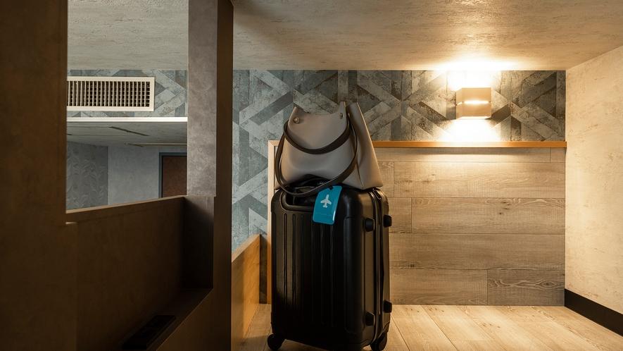 ◇フレックスルーム◇ ロフトスペースにお荷物を置いて