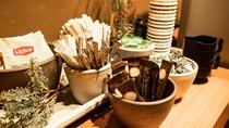 【フリースペース】コーヒー、紅茶、スープをご用意しております☆