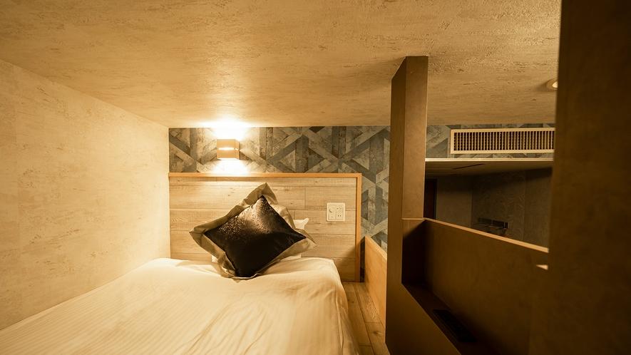 ◇フレックスルーム◇ 1名利用 お休みスペースとお寛ぎソファスペースをご用意