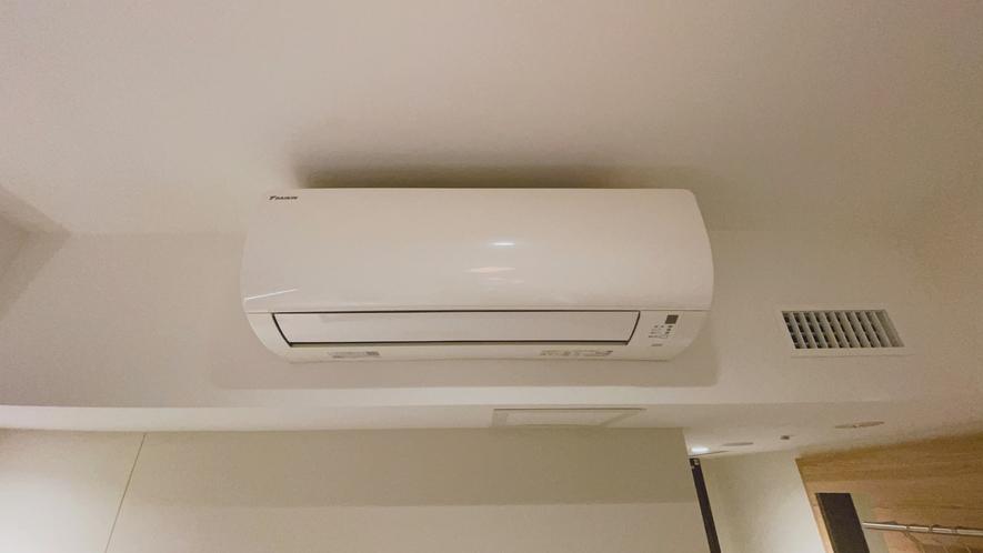 【エアコン】 全室個別空調です。