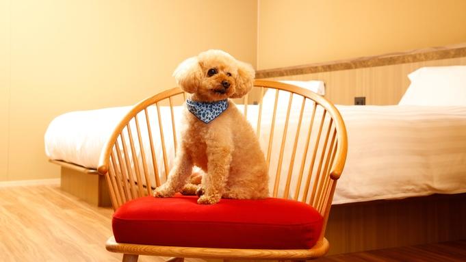 【わんちゃん同泊可】愛犬ともっと仲良くなるドッグフレンドリーステイ(朝食付)
