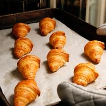 【朝食ブッフェ】焼きたてパンを(イメージ)