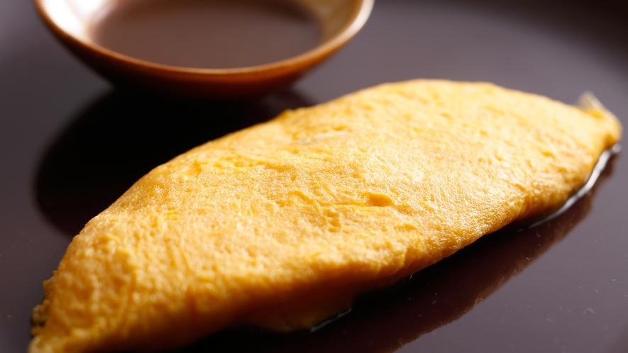 【朝食ブッフェ+セレクトメニュー】美咲卵のプレーンオムレツ デミグラスソース(対象のお客様専用です)