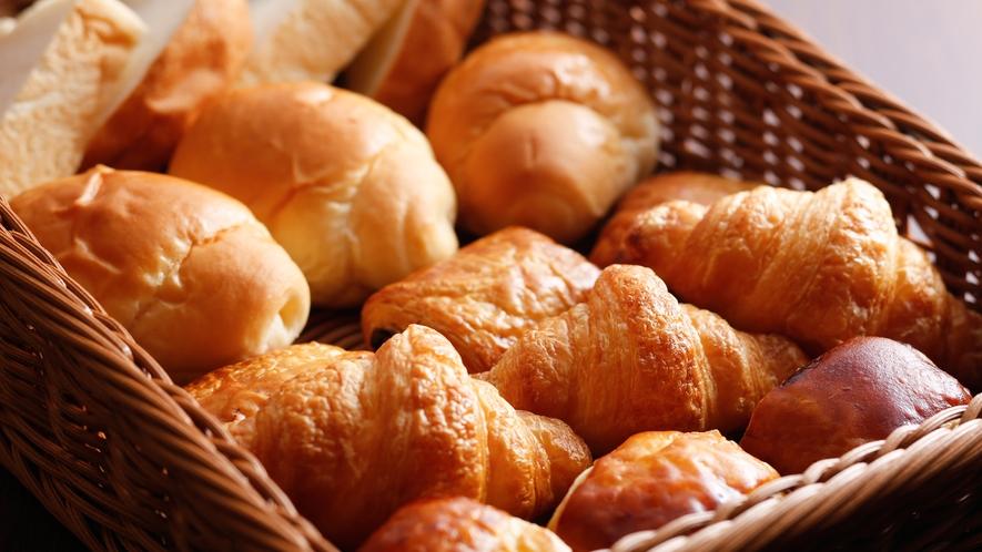 【朝食ブッフェ】食パン、ロールパン、デニッシュパン(イメージ)