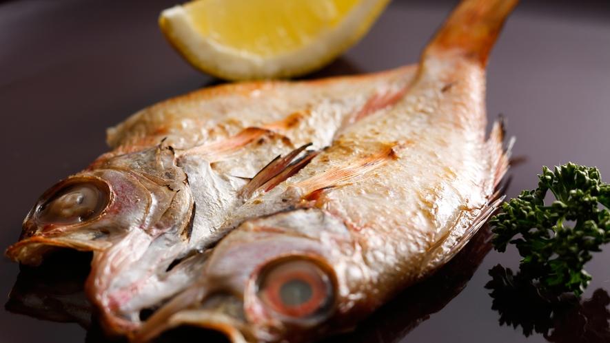 【朝食ブッフェ+セレクトメニュー】山陰産鮮魚の一夜干し(対象のお客様専用です)