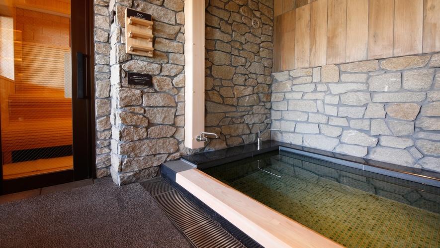 【津山温泉・城見SPA】水風呂・サウナ(一例)