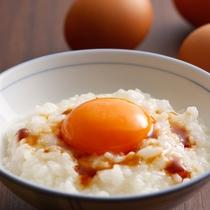 【朝食ブッフェ】美咲卵の赤玉 卵がけごはん(イメージ)