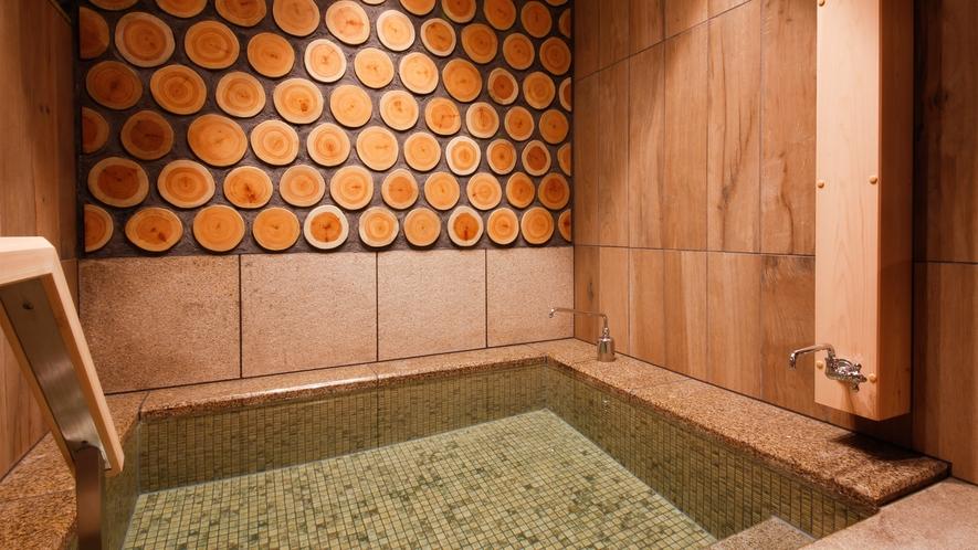 【津山温泉・城見SPA】水風呂(一例)