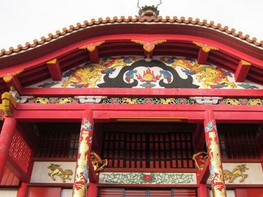 首里城正殿 琉球王国のグスク及び関連遺産群として世界遺産に登録