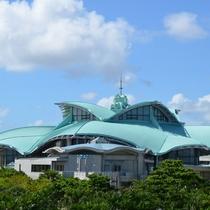 沖縄コンベンションセンター ホテルより車で25分、コンサートや大型会議も行われます。