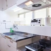 陽当たりの良い明るいキッチン