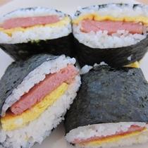 沖縄料理 ポーク卵サンドおにぎり