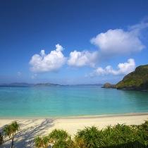 慶良間諸島(座間味島・渡嘉敷島等)へ出発する泊港も徒歩約6分。とても便利な立地です。