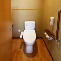 【別館】トイレはもちろんウォシュレットつき♪
