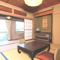 【個室】3名様まで泊まれる標準和室。