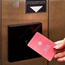 安心のエレベーター内セキュリティー