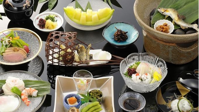 ◆夏季限定◆【川床】貴船「きらく」の納涼川床料理(送迎付き)〜2食付〜