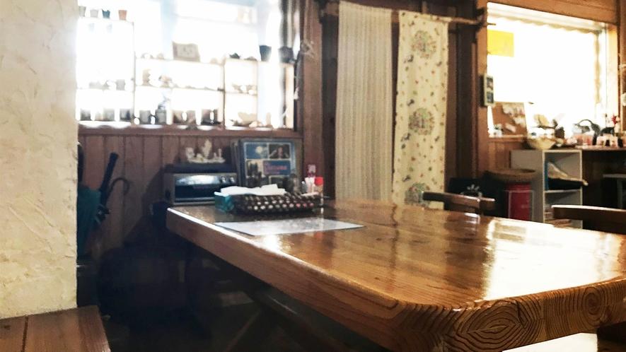 【食堂】ランチ付きプランはこちらでお召し上がりください