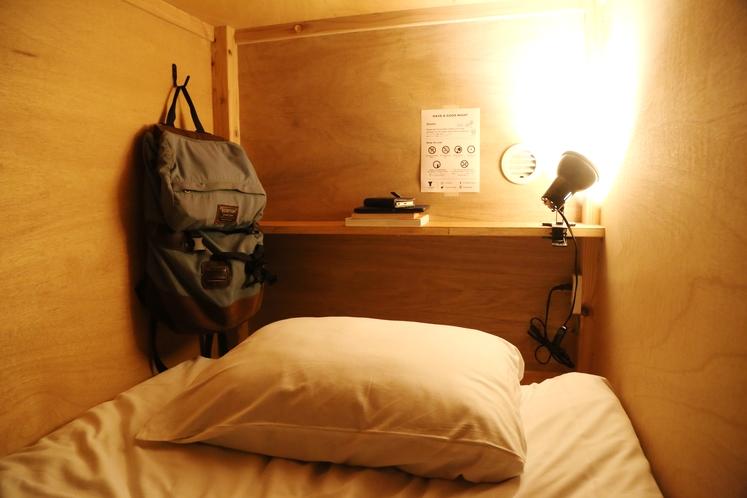 ドミトリー ベッド