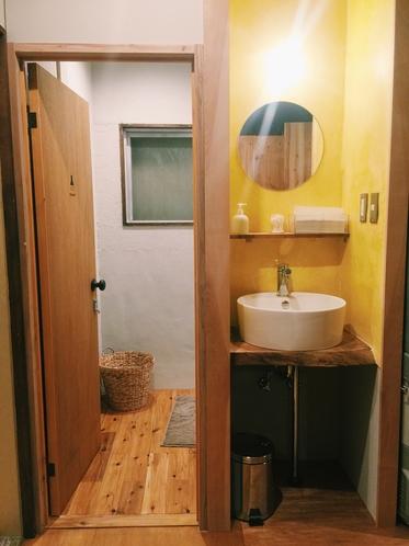 共用スペース(バスルーム)