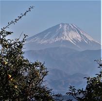 高下地区から見た富士山