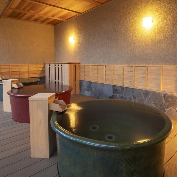 【大浴場 女性】露天風呂