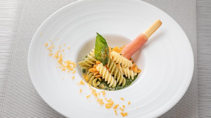 【夕食】パスタ一例