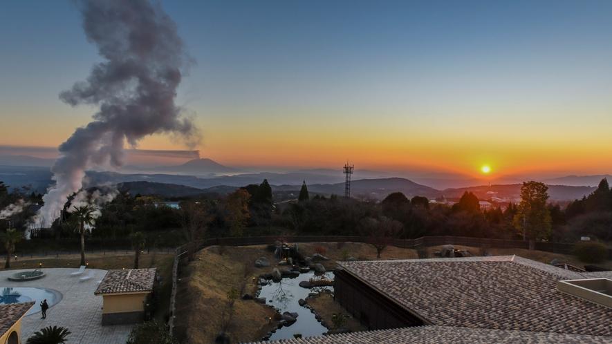 ★ラビスタルームからの夕焼け