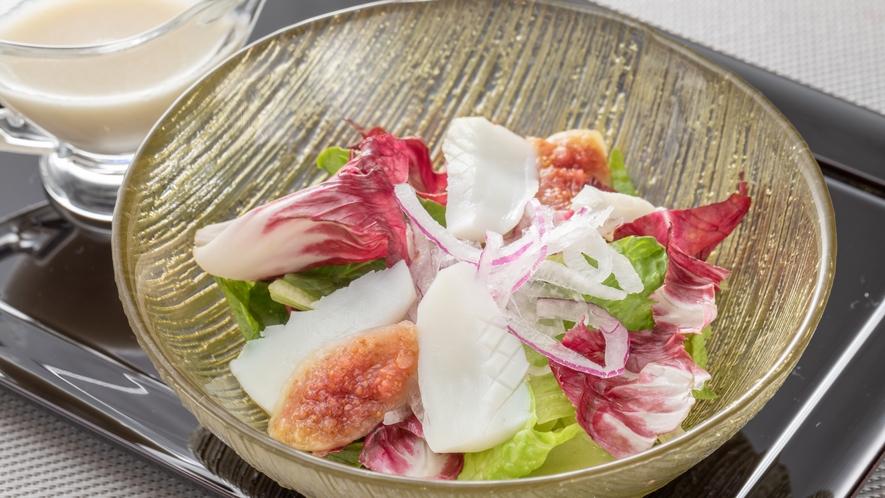 【夕食】サラダ