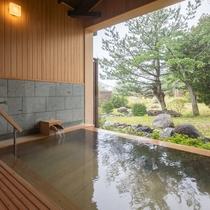 【貸切露天風呂】檜扇の湯