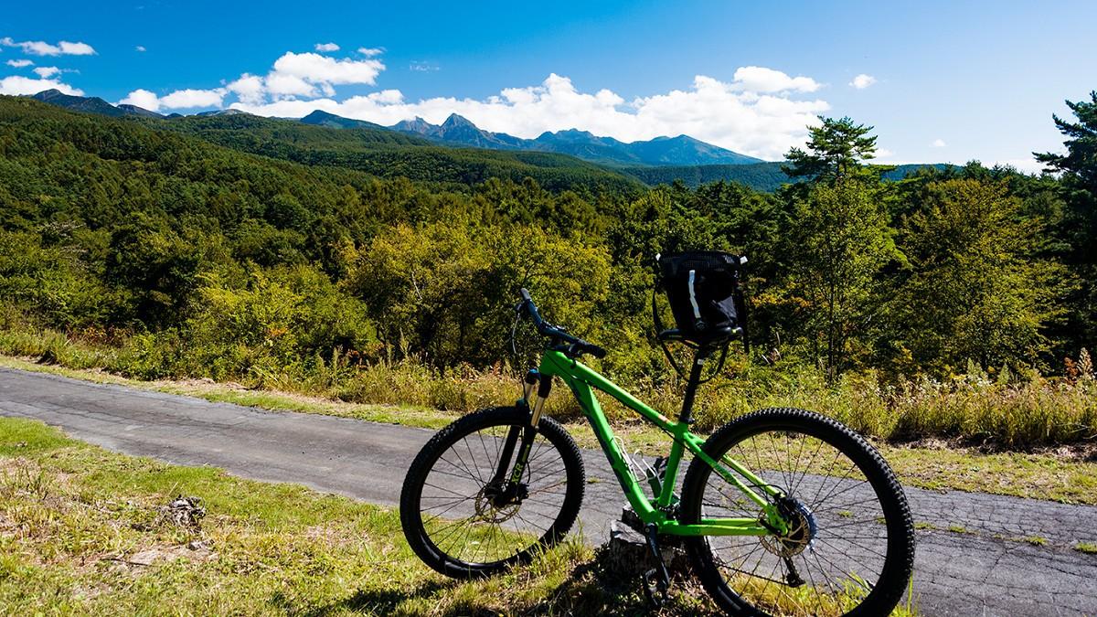 【Mountain Bike Tour】講習会付きツアー、またはレンタルのみも承ります。