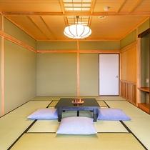 【山側12畳】落ち着いた和室