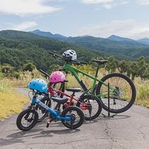 マウンテンバイクはお子様用もご用意しております