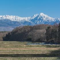 自然の美しさと厳しさが共存する厳冬の八ヶ岳連峰